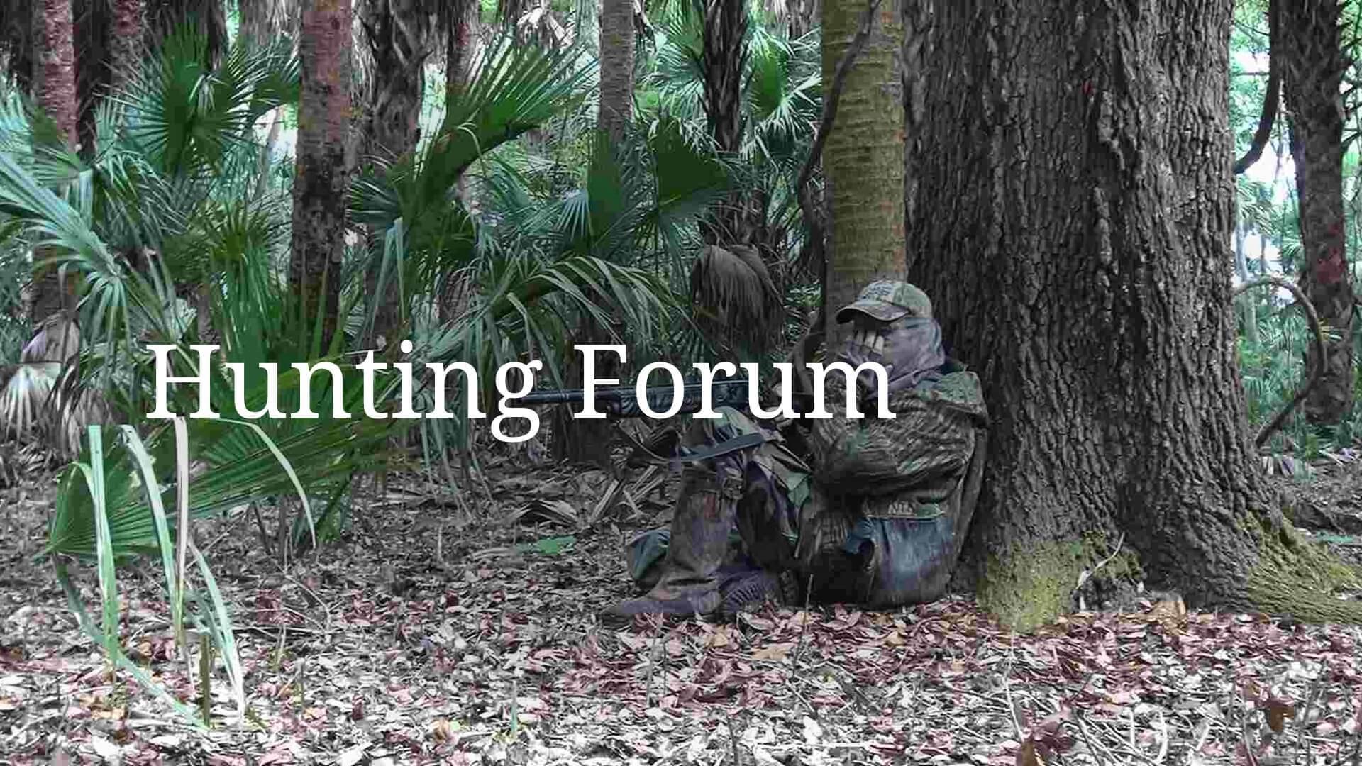 Hunting Forum