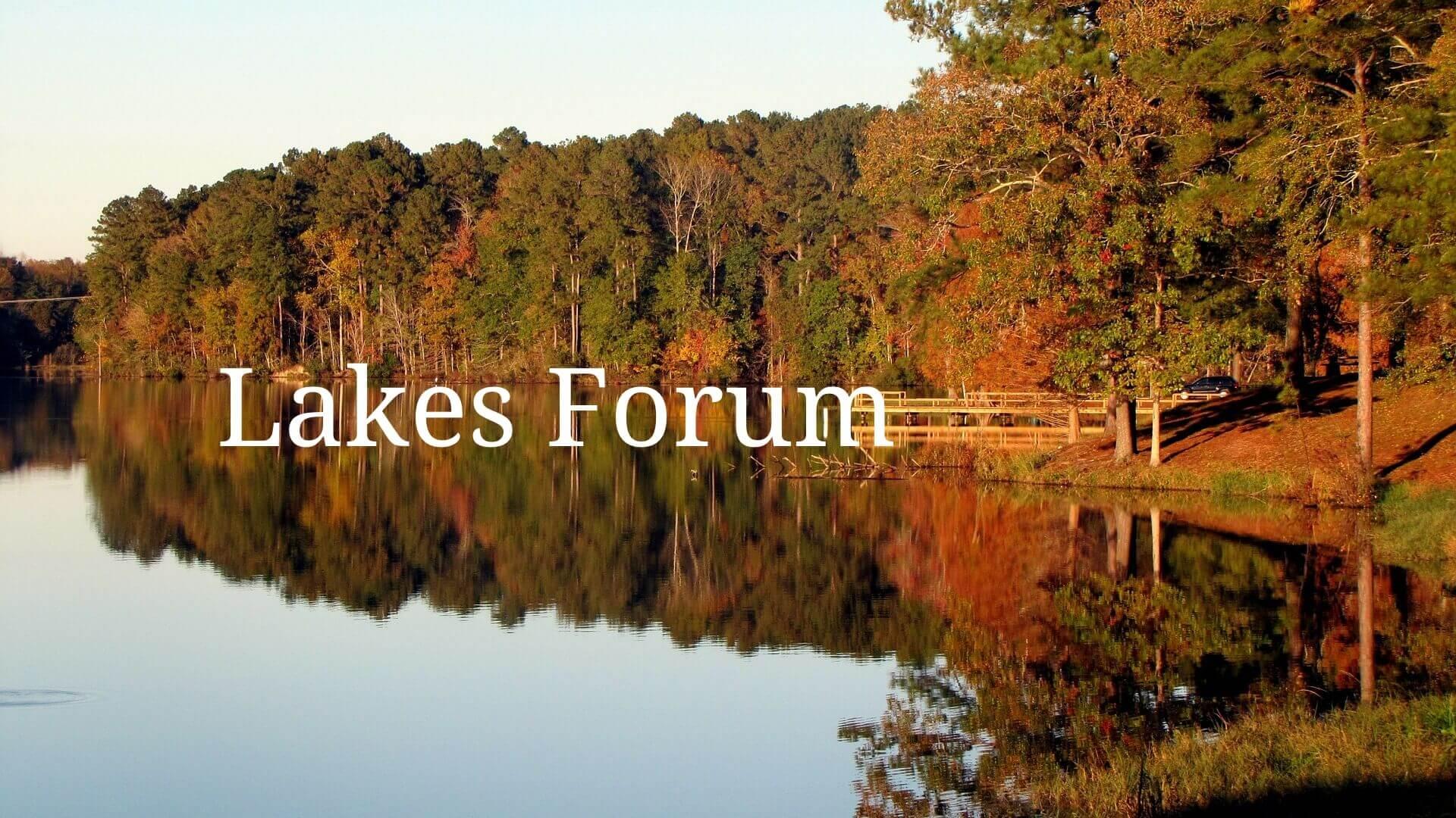 Lakes Forum